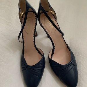 Sarah Jessica Parker Italian leather heels size 39
